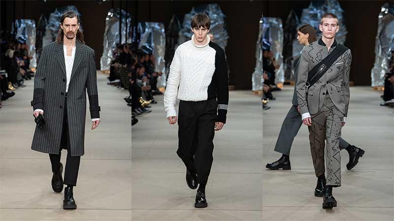 Modetrends winter 2020 2021. Modeshow: Neil Barrett