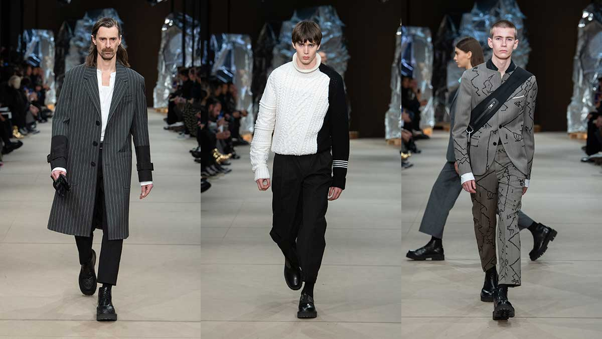 Modetrends winter 2020 2021. Modeshow: Neil Barrett