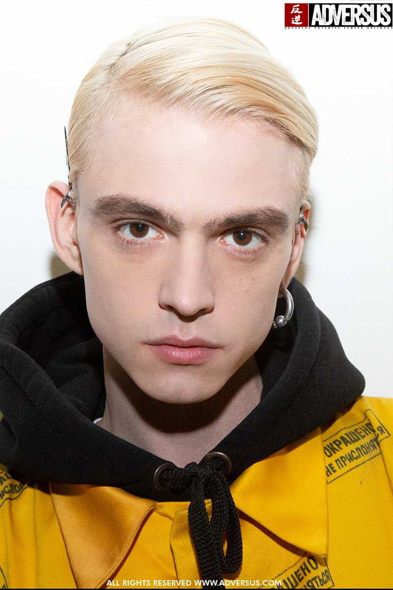 Kapsels en haarkleuren mannen 2020. Geblondeerd mannenkapsel