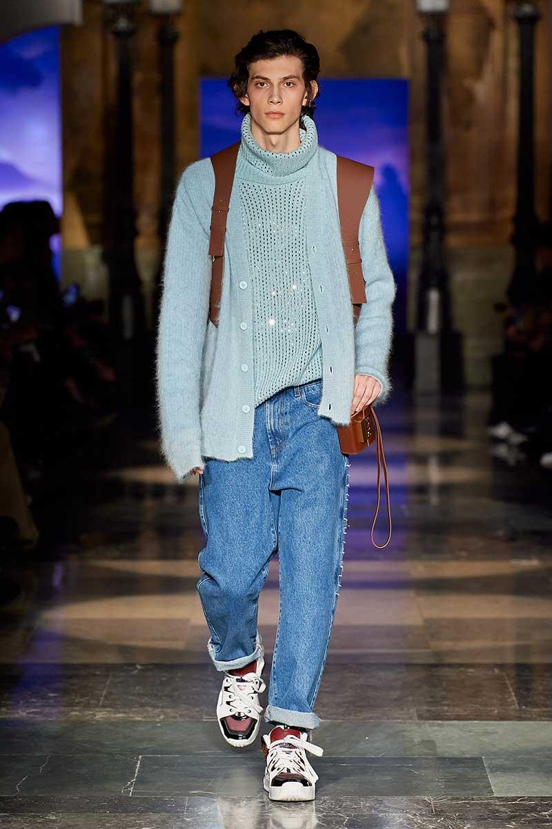 Modetrends man winter 2020. Opa-vesten