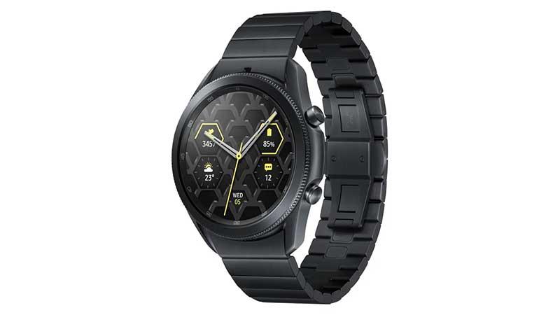 Samsung Galaxy Watch3 Titanium combineert luxe met duurzaamheid