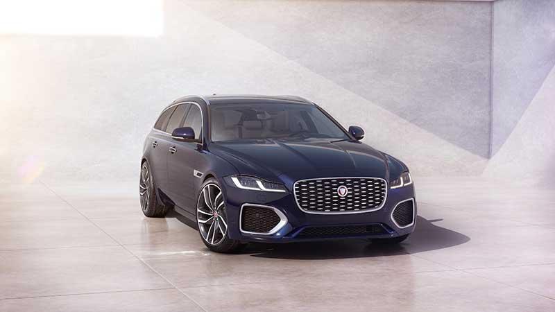 Nieuwe Jaguar XF: vernieuwd uiterlijk, luxueuzer en connected