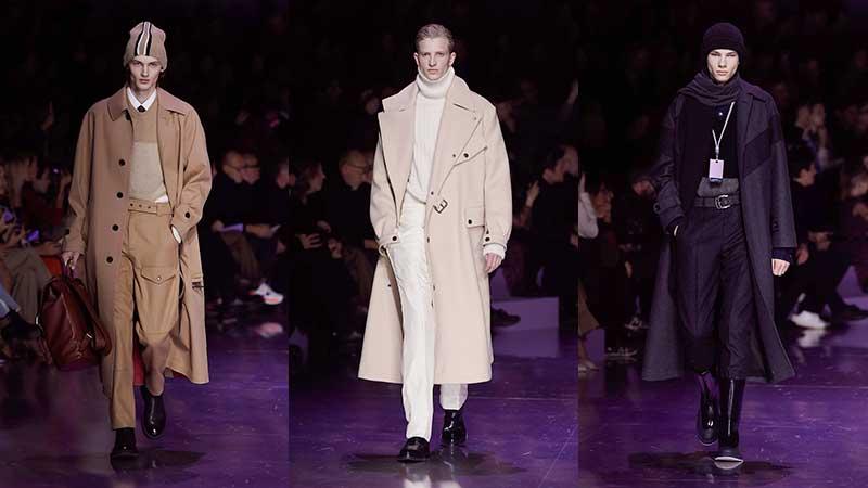 Modetrends man winter 2020 2021. Lange jassen zijn terug. Photos: courtesy of Boss