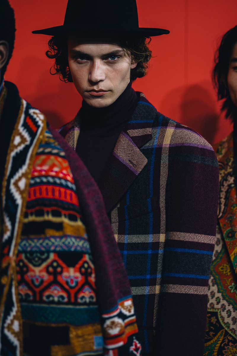 Etro Man Herfst Winter 2020 2021 - Photo courtesy of Etro