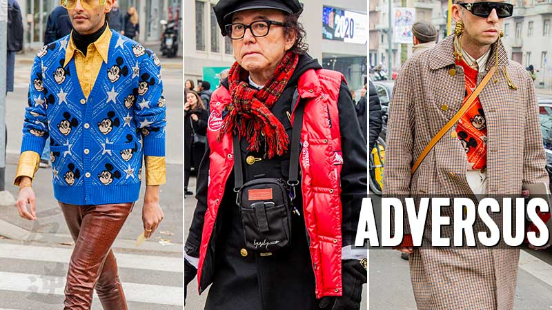 Modetrends man: street style fashion herfst winter 2020 2021