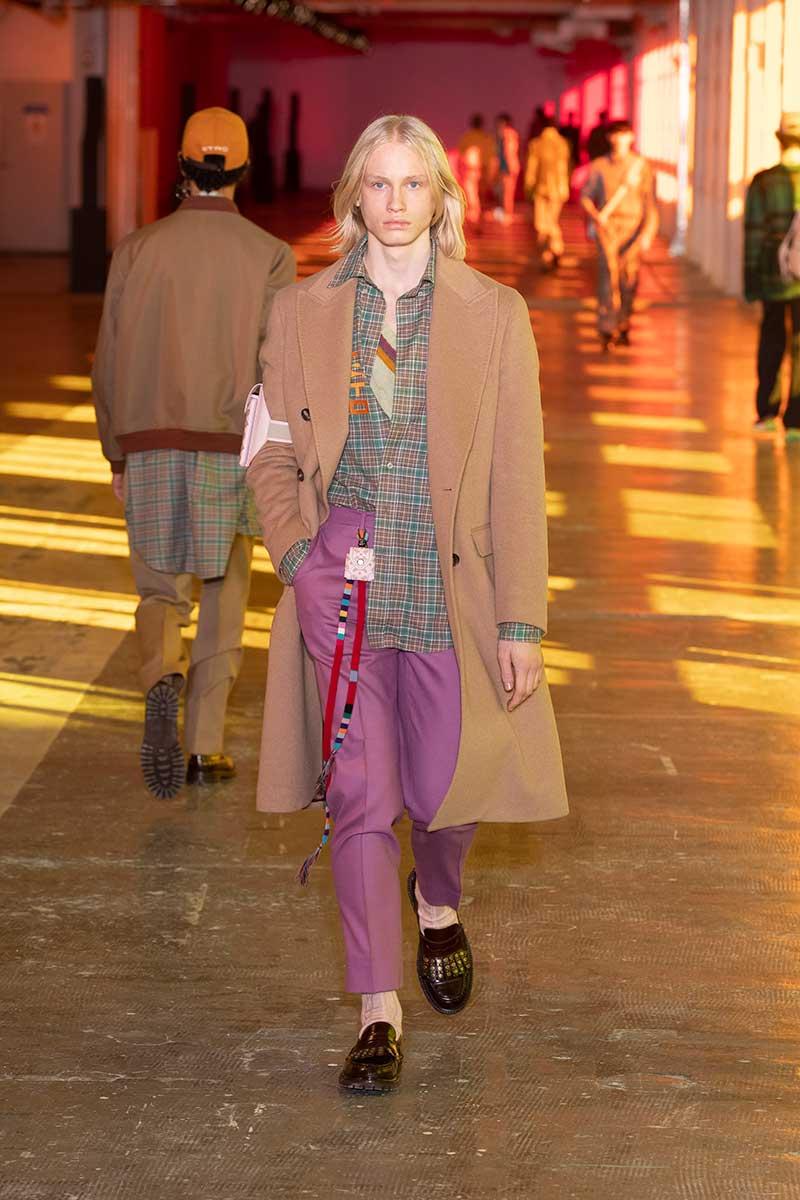 Modetrends herfst winter 2021 2022. Modeshow: Etro. Photo: courtesy of Etro