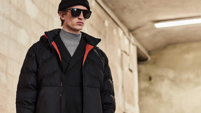 Modetrends man herfst winter 2021 2022. Modecollectie Z Zegna. Photo: courtesy of Z Zegna