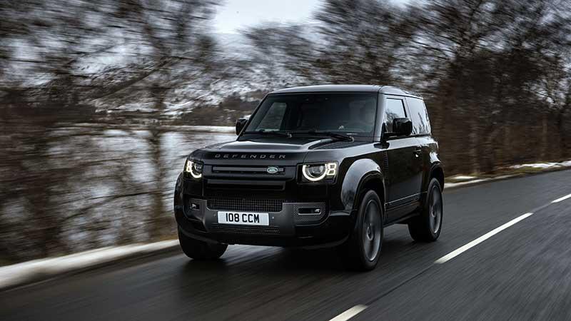 Nieuwe Land Rover Defender V8 is snelste en krachtigste ooit