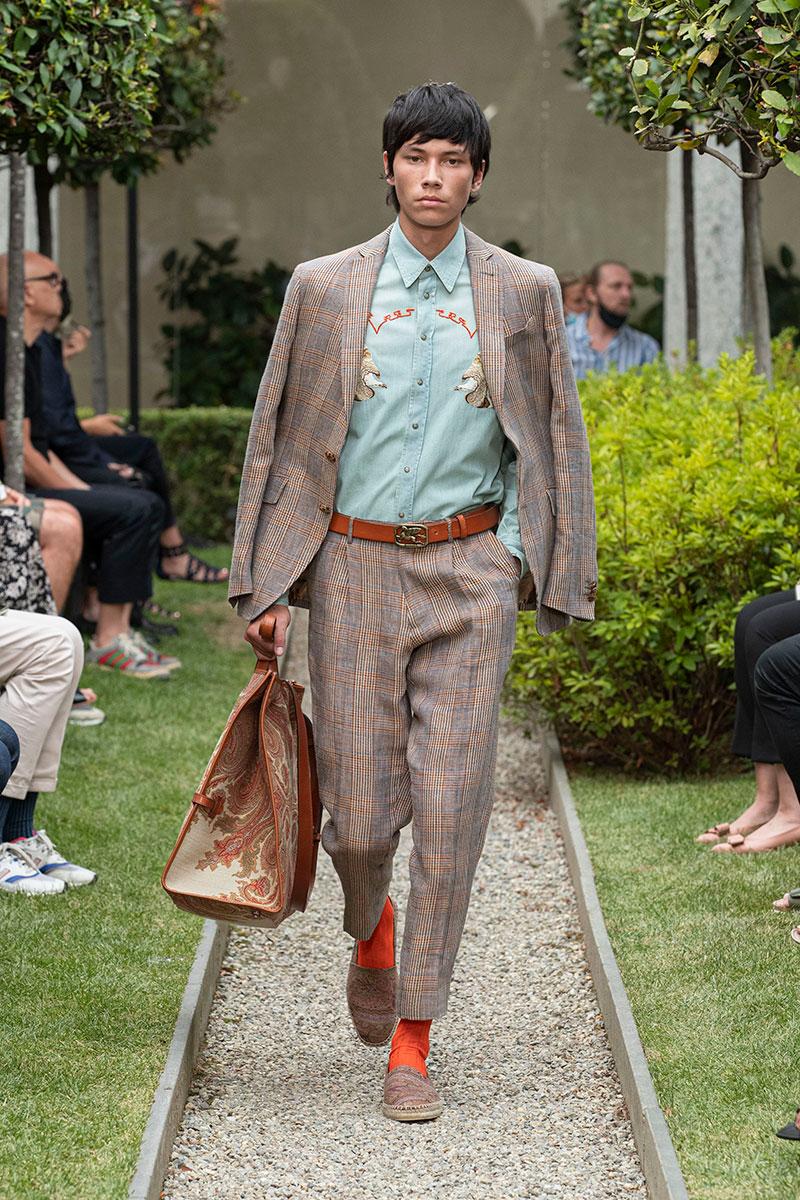 Modetrends man voorjaar 2021. Lichte lentelooks