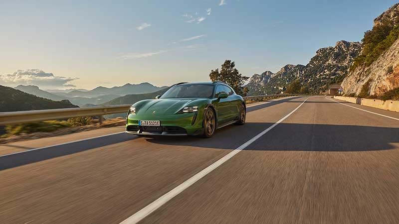 Porsche Taycan Cross Turismo: de allrounder onder de elektrische sportwagens