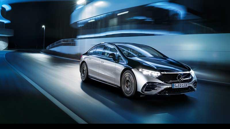 De EQS: het eerste elektromodel in de luxeklasse