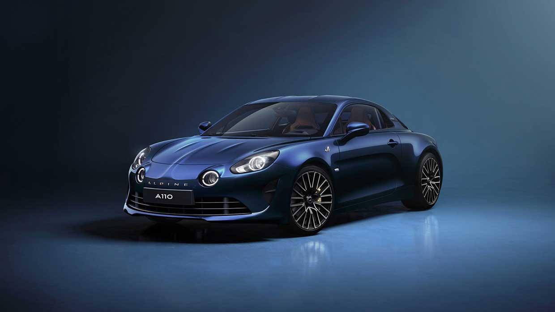 Alpine presenteert gelimiteerde A110 Légende GT 2021