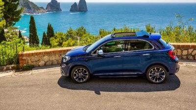 """Fiat 500 en 500X Yachting """"welcome back dolce vita"""""""