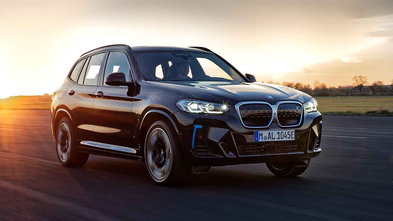 De geheel nieuwe BMW iX3