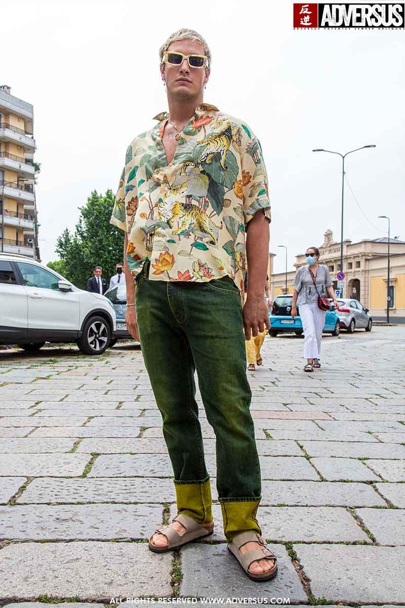 Streetstyle herenmode. Must-have: overhemd met fantasie