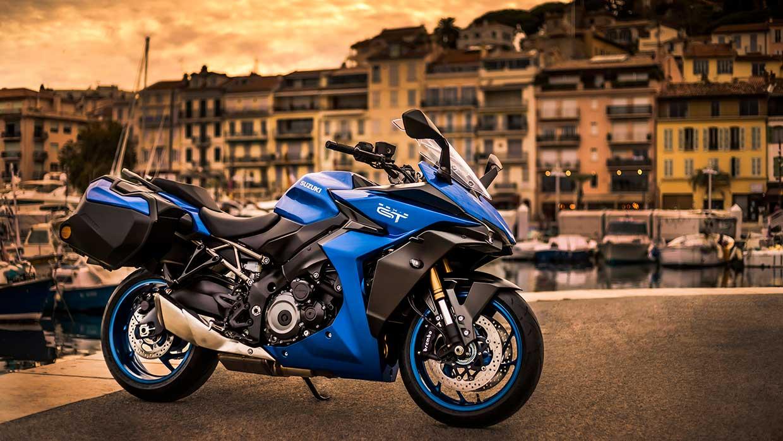 Suzuki GSX-S1000GT high-performance sport-tour machine