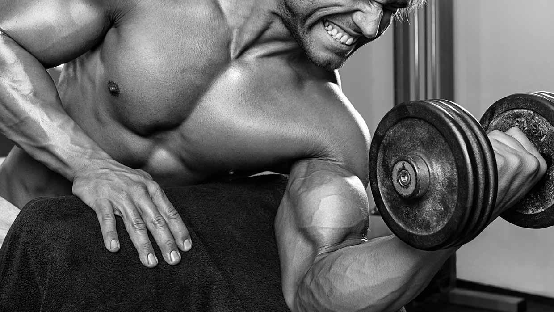 Biceps trainen: de geconcentreerde biceps curl